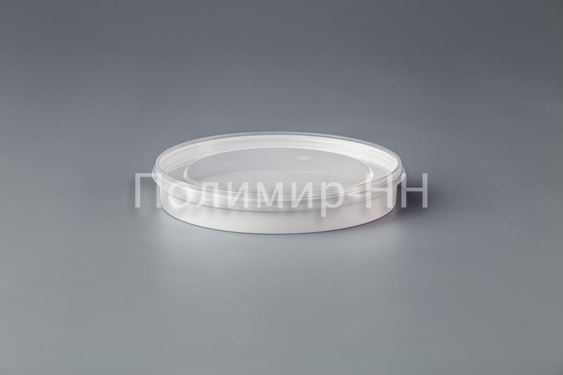 Банка пластиковая круглая 0,180л